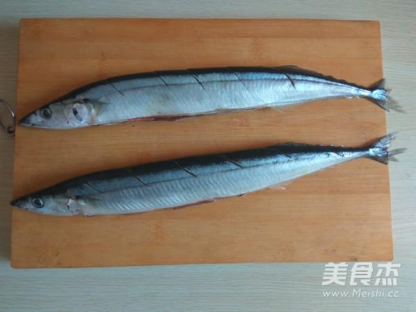 烤秋刀鱼的做法图解
