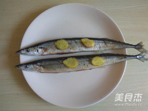 烤秋刀鱼的家常做法