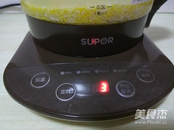 养生二米粥的简单做法