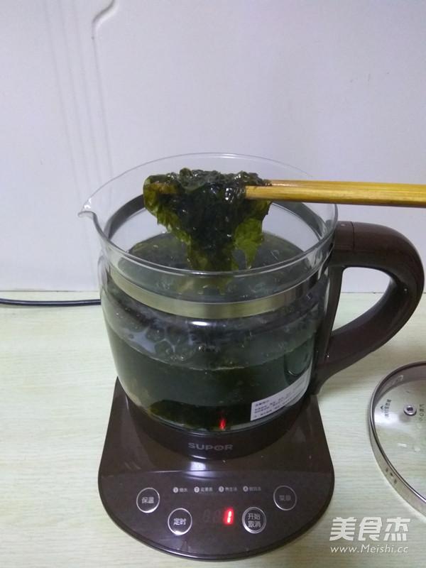 紫菜虾皮蛋花汤的简单做法