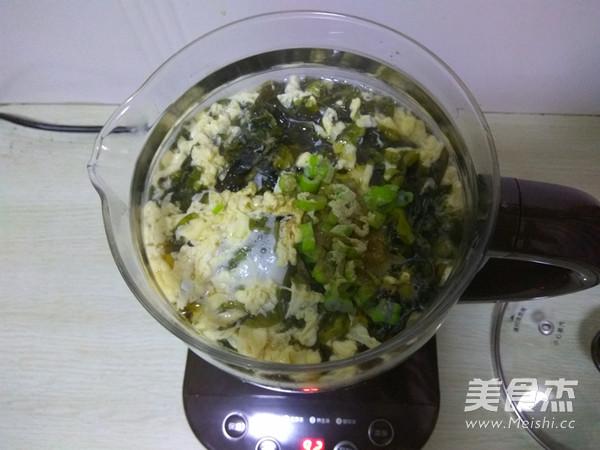紫菜虾皮蛋花汤怎么做