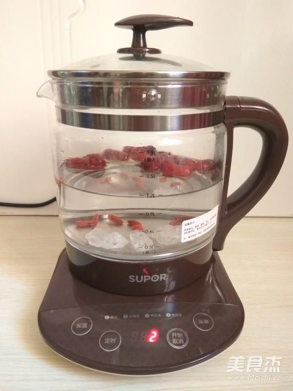 大枣枸杞茶的家常做法