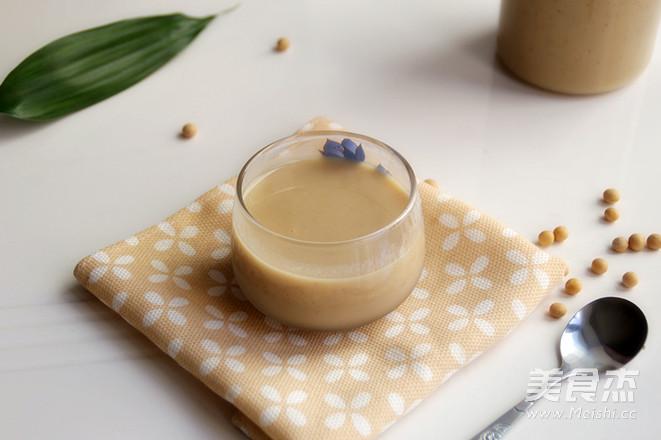 大黄米养生豆浆成品图