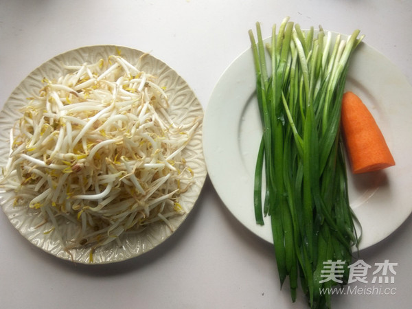 绿豆芽炒韭菜的做法大全