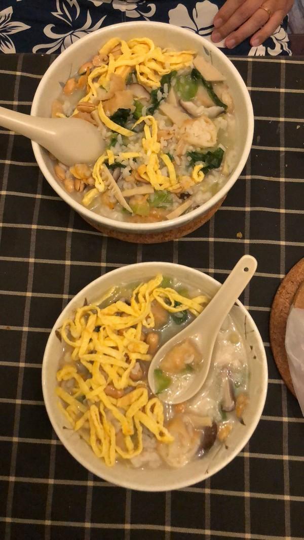 海鲜泡饭的制作方法