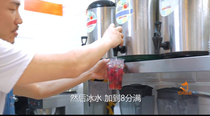 台湾网红饮品店橘菓子,小杨梅的做法配送送给你哦的简单做法