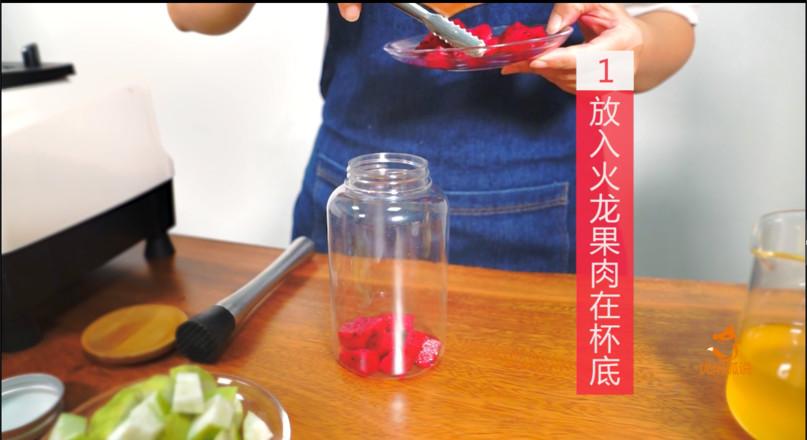 奶茶配方教程--教你做一款夏季热门饮品乐乐火龙果的做法大全