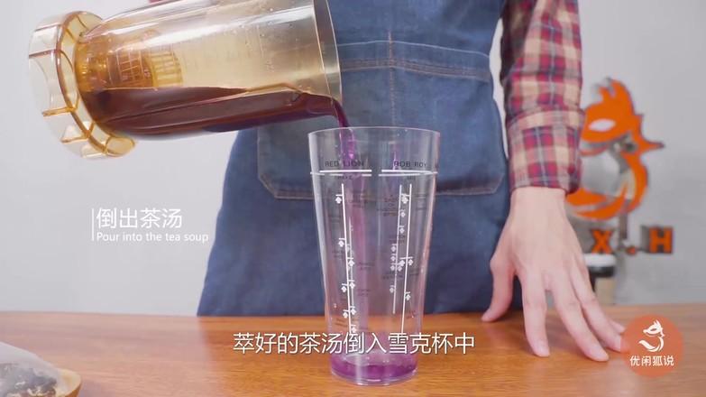 黑枸杞奶盖茶的做法的家常做法