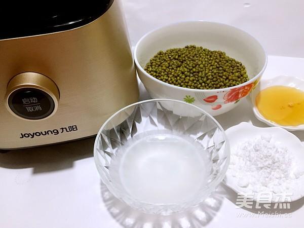 椰香绿豆糕的做法大全