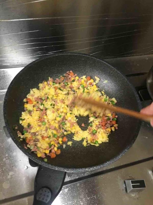 营养炒米饭怎么做