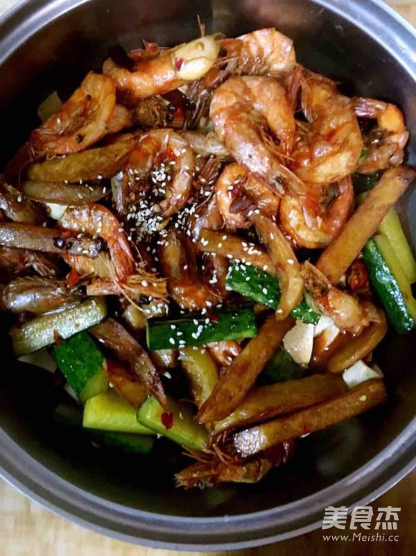 干锅香辣虾怎样煸
