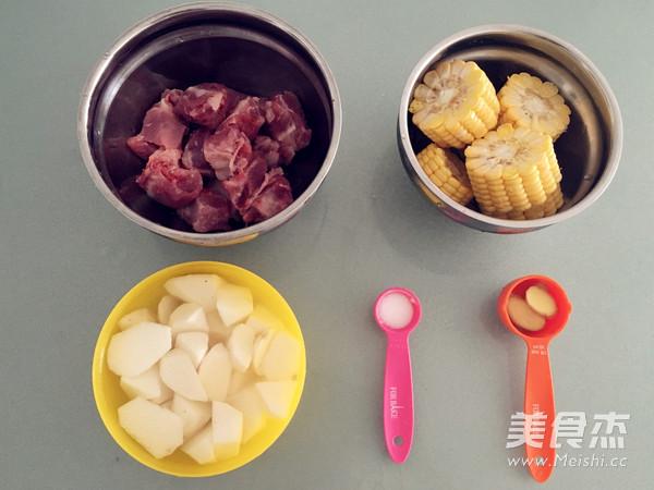 玉米山药排骨汤的做法大全