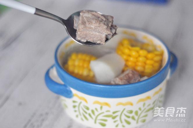 玉米山药排骨汤怎么煸