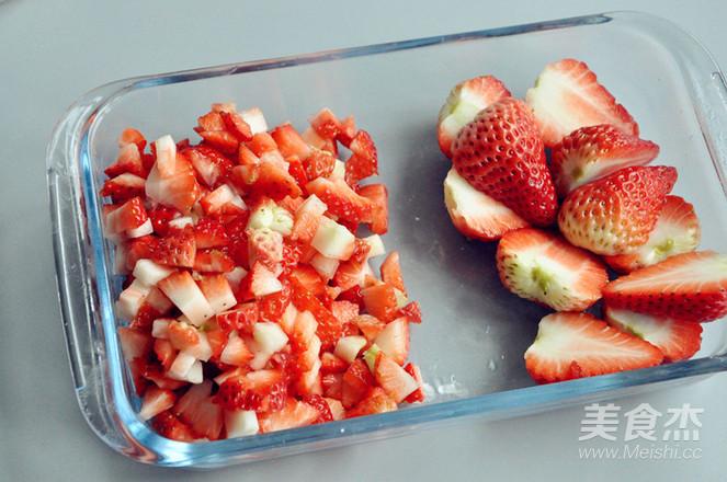 草莓奶油蛋糕盒子怎样炖