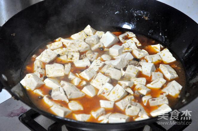肉末豆腐怎么煮