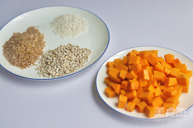 南瓜薏米燕麦米粥的做法大全