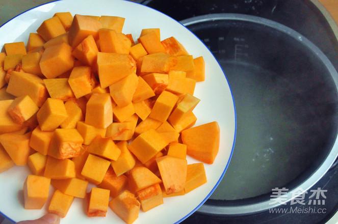 南瓜薏米燕麦米粥的简单做法