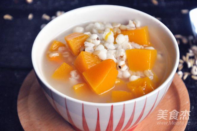 南瓜薏米燕麦米粥怎么吃