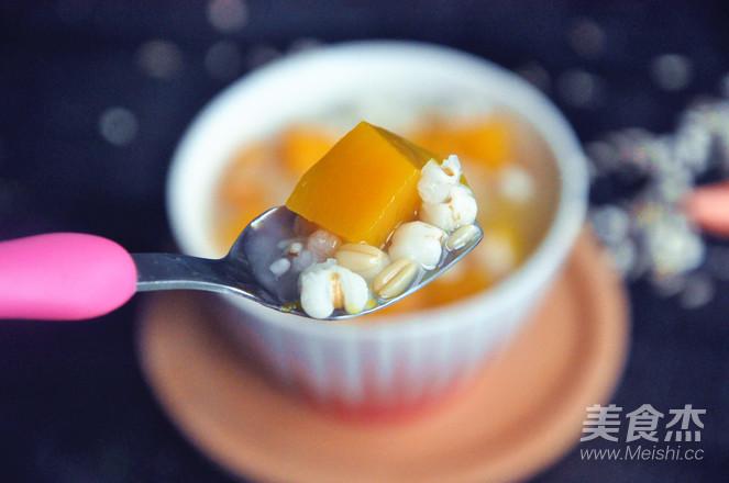 南瓜薏米燕麦米粥怎么做