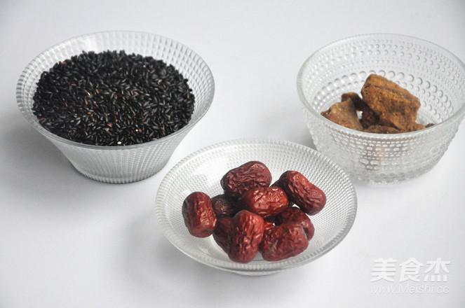 红糖红枣黑米粥的做法大全