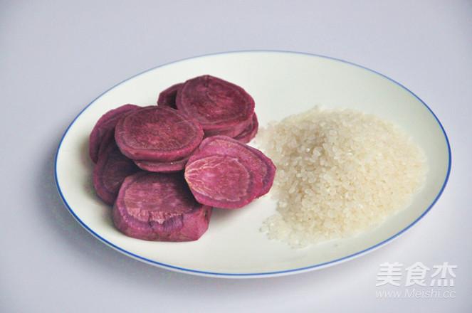 紫薯米糊的做法大全
