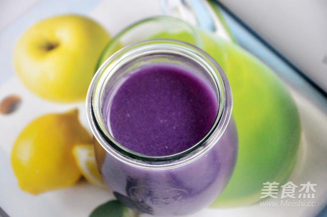 紫薯米糊的简单做法