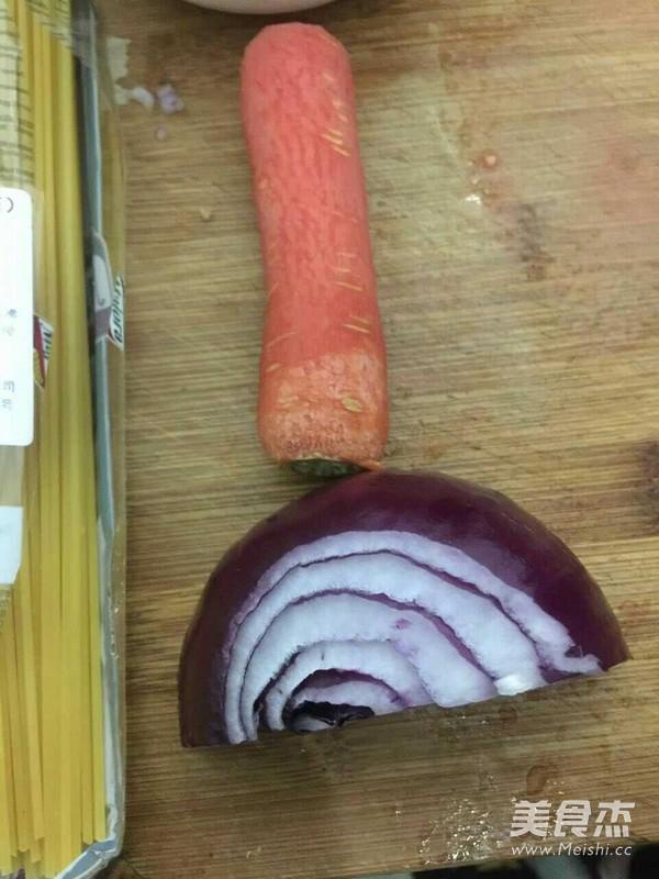 番茄肉酱意大利面的做法图解
