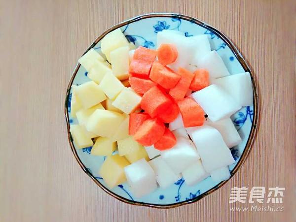 牛肉炖萝卜土豆的做法图解