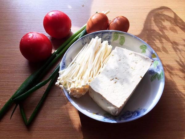 金针菇豆腐汤的做法大全