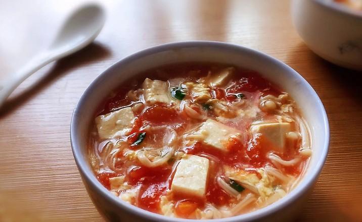 金针菇豆腐汤怎么炒