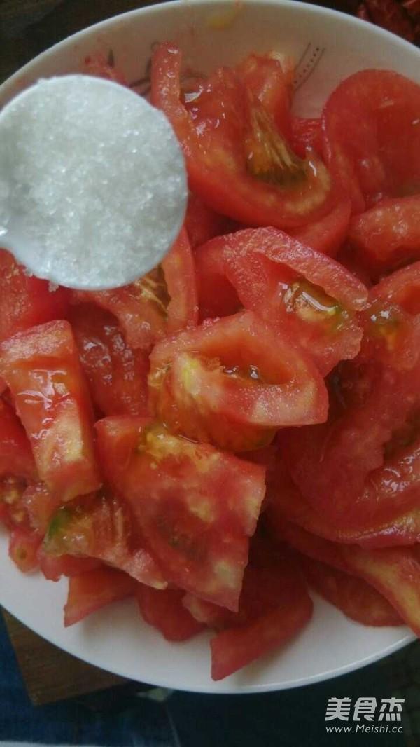 糖拌西红柿怎么吃