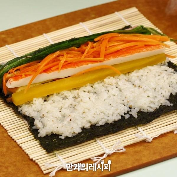 水芹紫菜卷饭怎么炒
