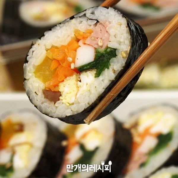 水芹紫菜卷饭怎么煮