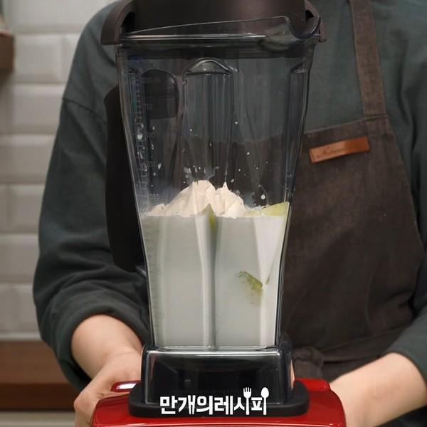 哈密瓜牛奶的做法图解