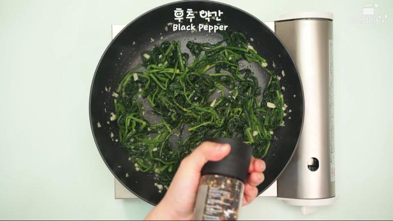 黄油菠菜的简单做法