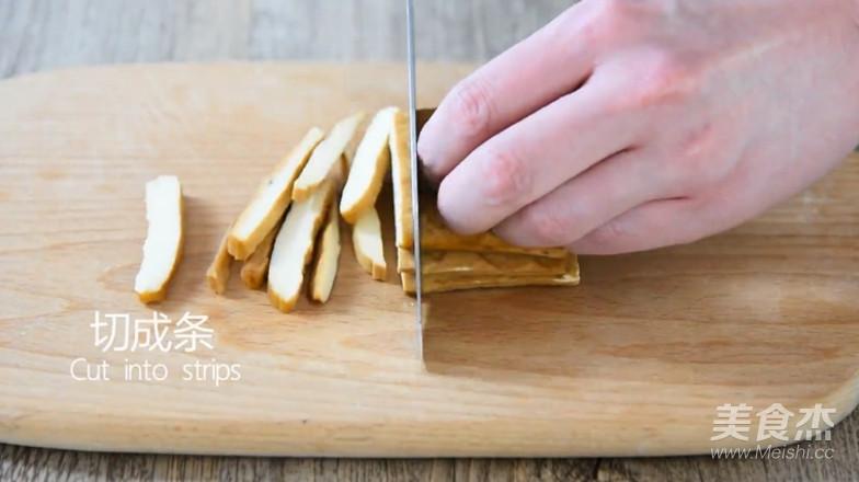 马兰头拌香干美味如此简单的家常做法