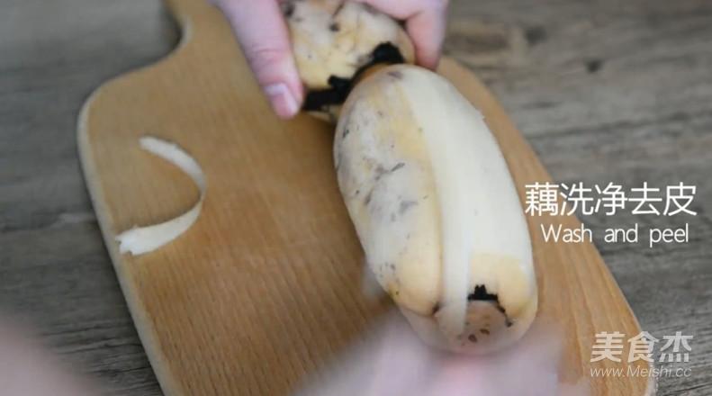 爆好吃的凉拌香辣藕片的做法图解