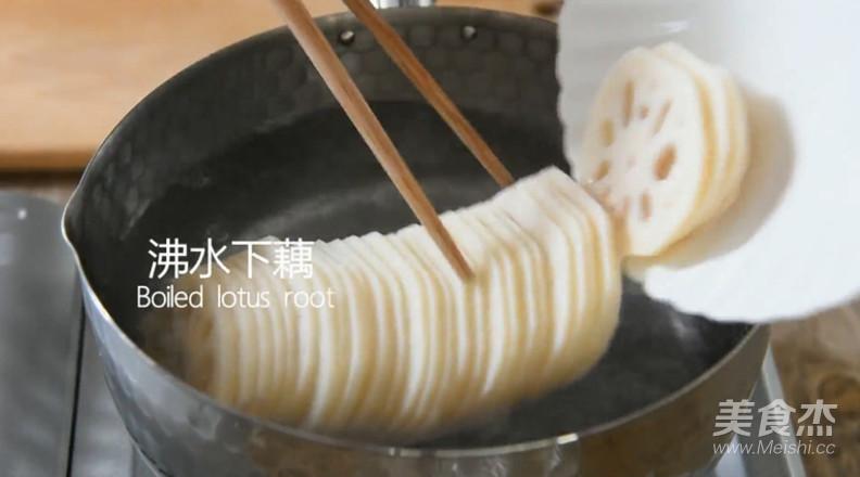 爆好吃的凉拌香辣藕片怎么做