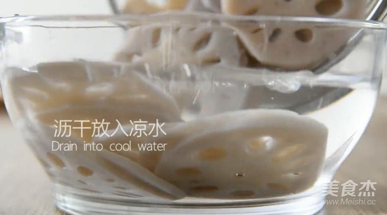 爆好吃的凉拌香辣藕片怎么炒