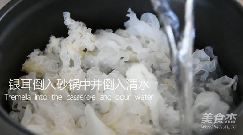 银耳莲子汤烹饪手法怎么吃