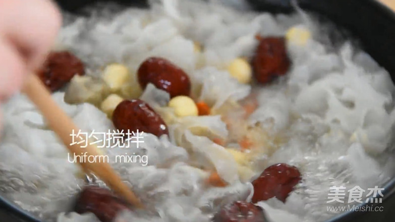 银耳莲子汤烹饪手法怎么炒