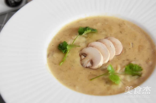 法式奶油蘑菇汤怎样煮
