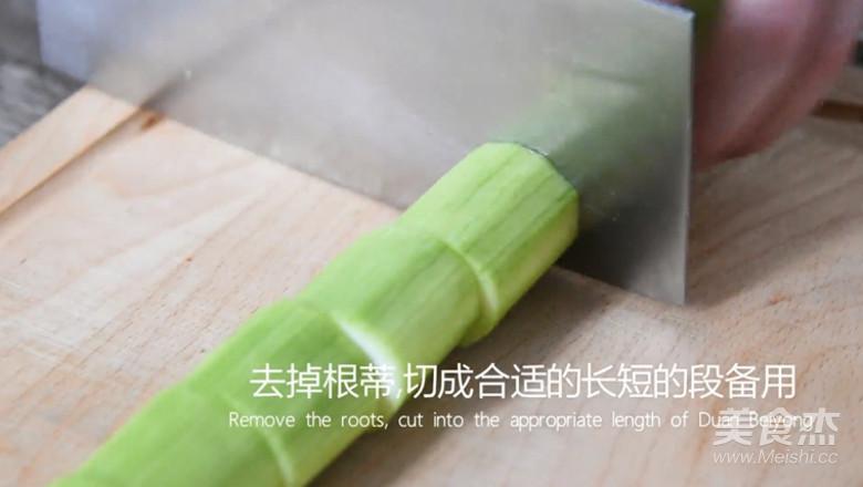蒜蓉粉丝蒸丝瓜好看又好吃的简单做法