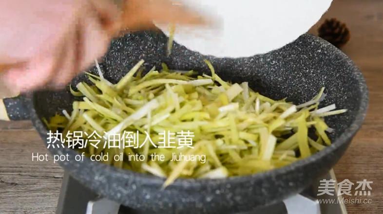 韭黄炒蛋这样搭配好看又好吃怎么做