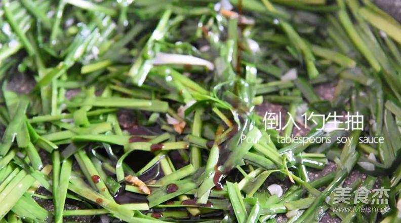 韭菜炒豆腐怎么炖