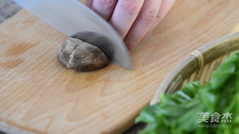 白灼生菜的做法图解