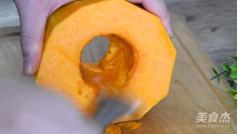 黄金南瓜包的做法图解