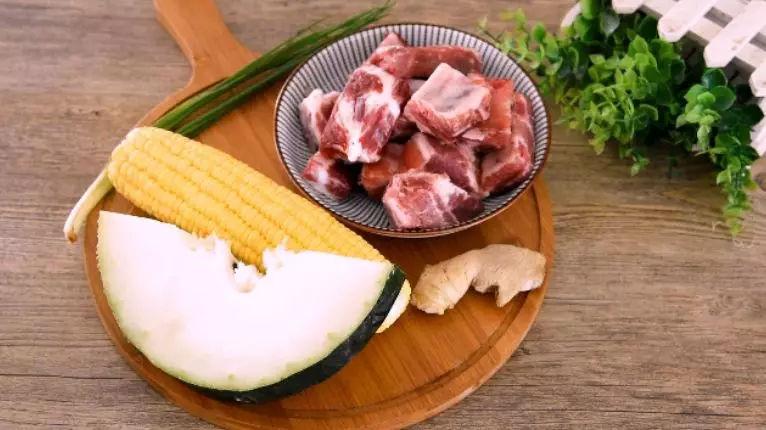 冬瓜排骨玉米汤的做法大全