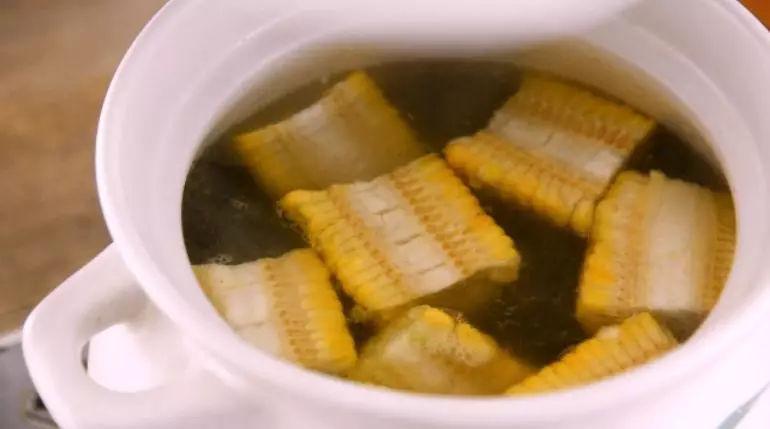 冬瓜排骨玉米汤怎么吃