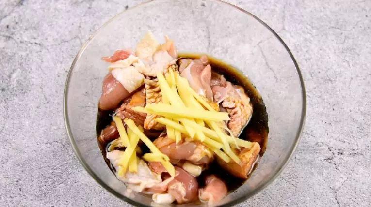 黄花菜蒸鸡的简单做法